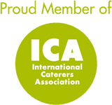 Proud member of the International Caterers Association